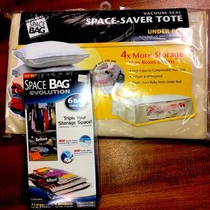 Space Saver Tote & Bag